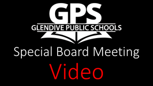 Special Board Meeting Video
