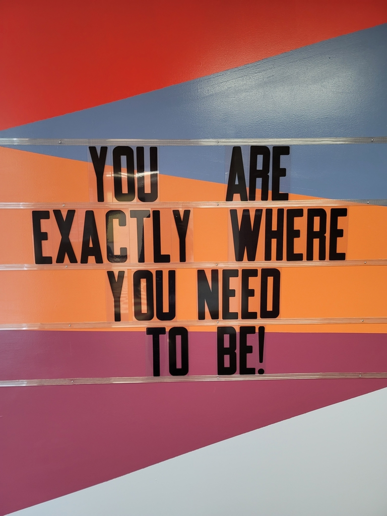 You are exactly where you need to be!