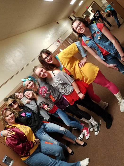 80's Red Ribbon Week