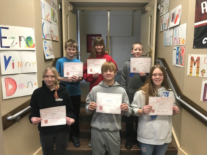 Nov Students of month 18
