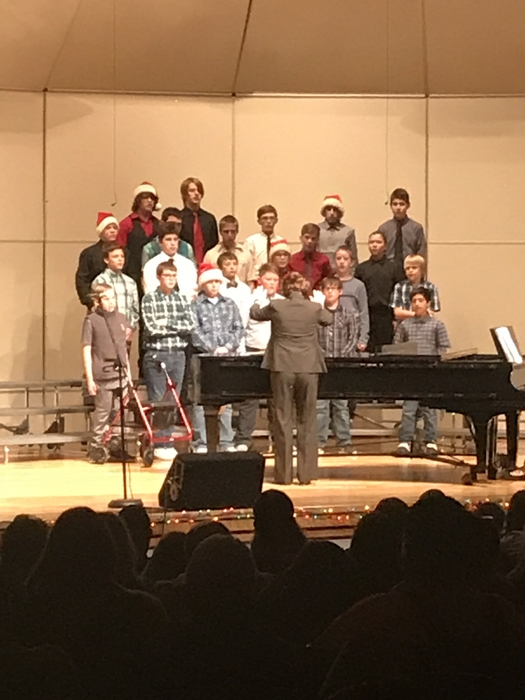 7-8 boys choir
