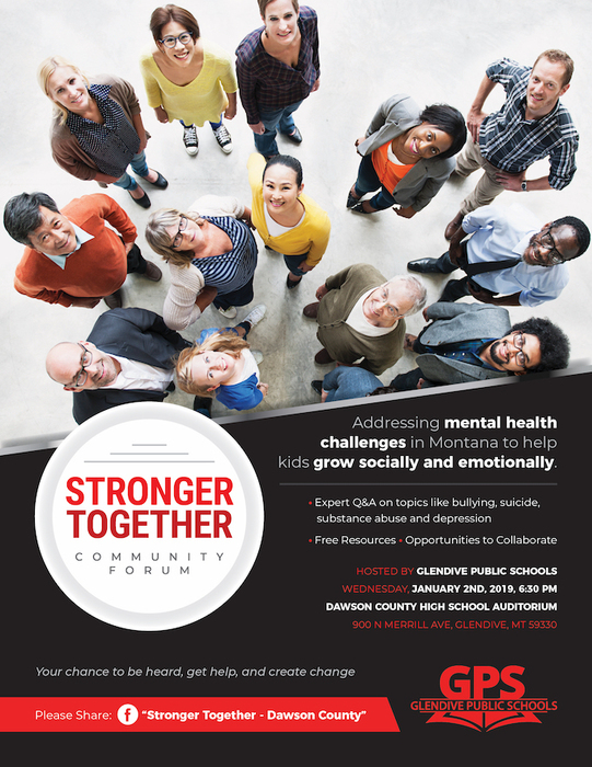 Stronger Together Flyer