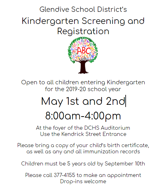 Kinder Screening