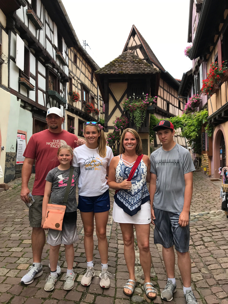 The Wahl family in Germany