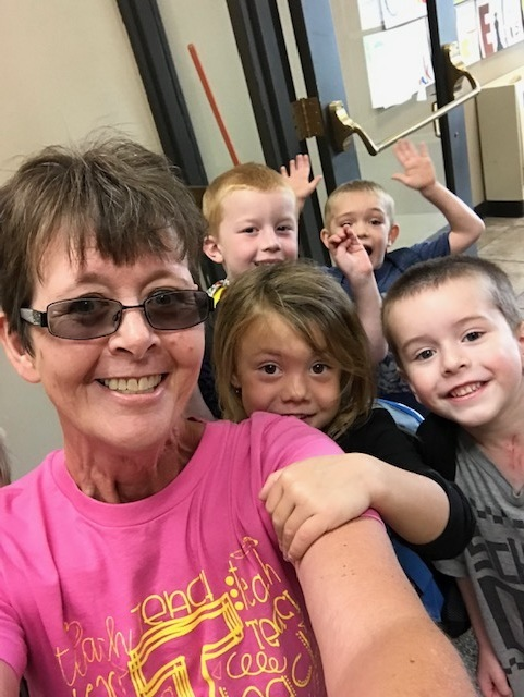 Mrs. D and kids