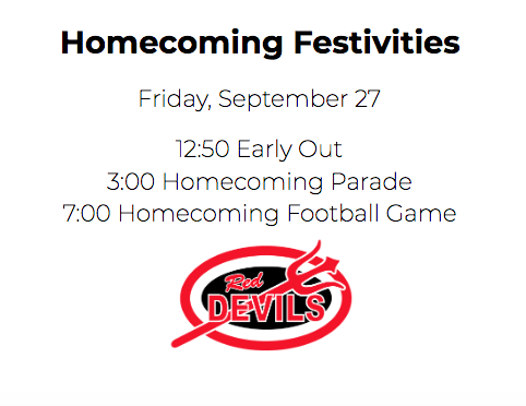 Friday Homecoming Events