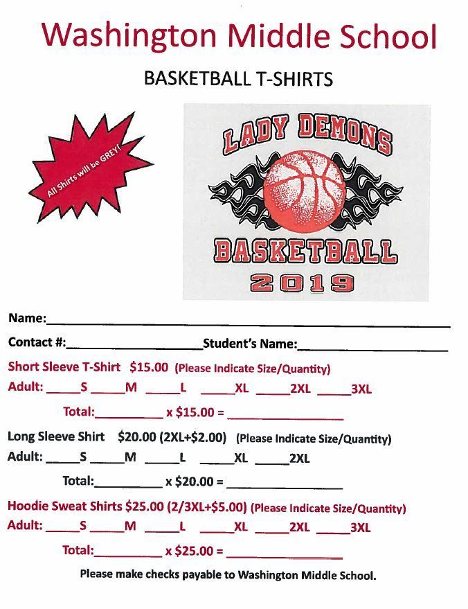 Girls Basketball Spiritwear