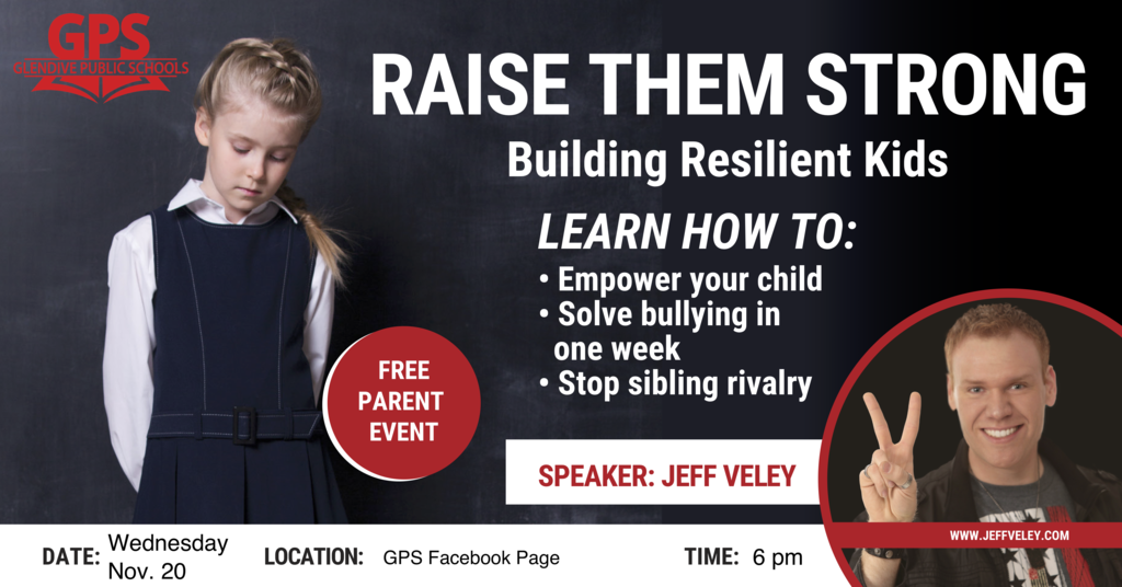 Jeff Veley Raise Them Strong Event (Facebook Live)