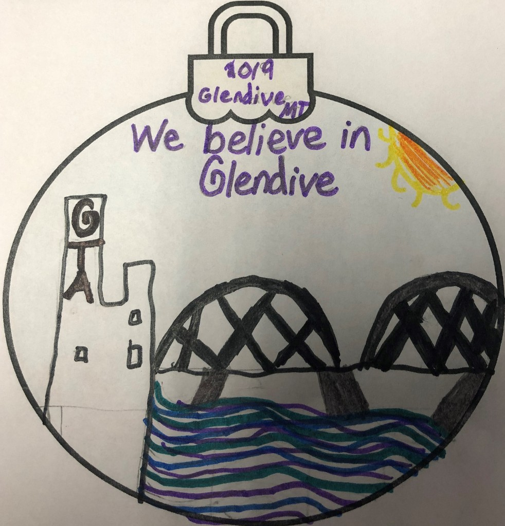 Glendive Ornament Project