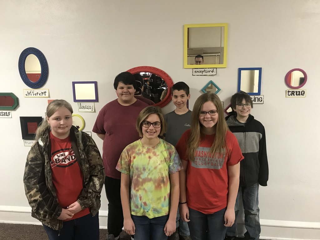 students of the month- January