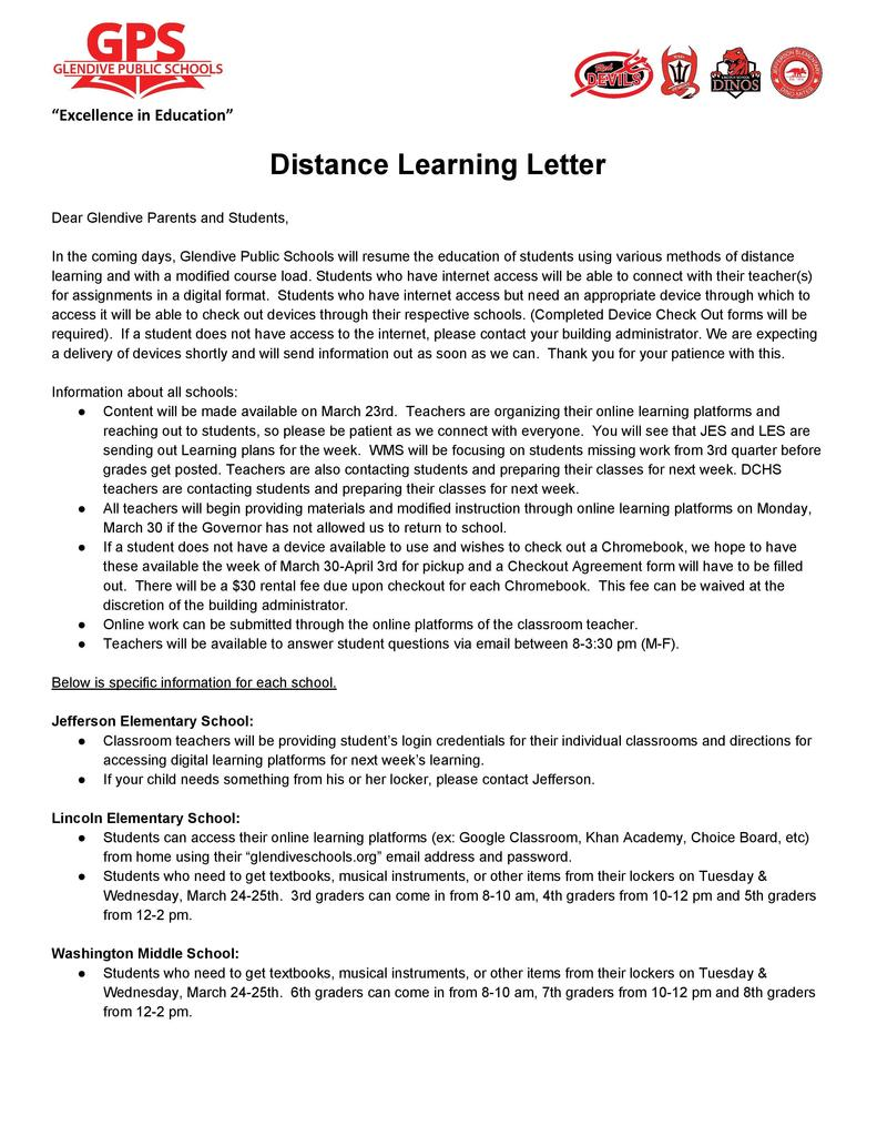 Distance Learning Parent Letter PDF: https://5il.co/e3d2