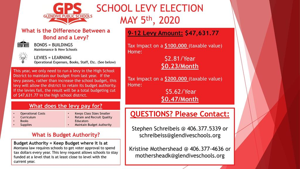 High School General Fund Levy Flyer  PDF: https://5il.co/f7p9