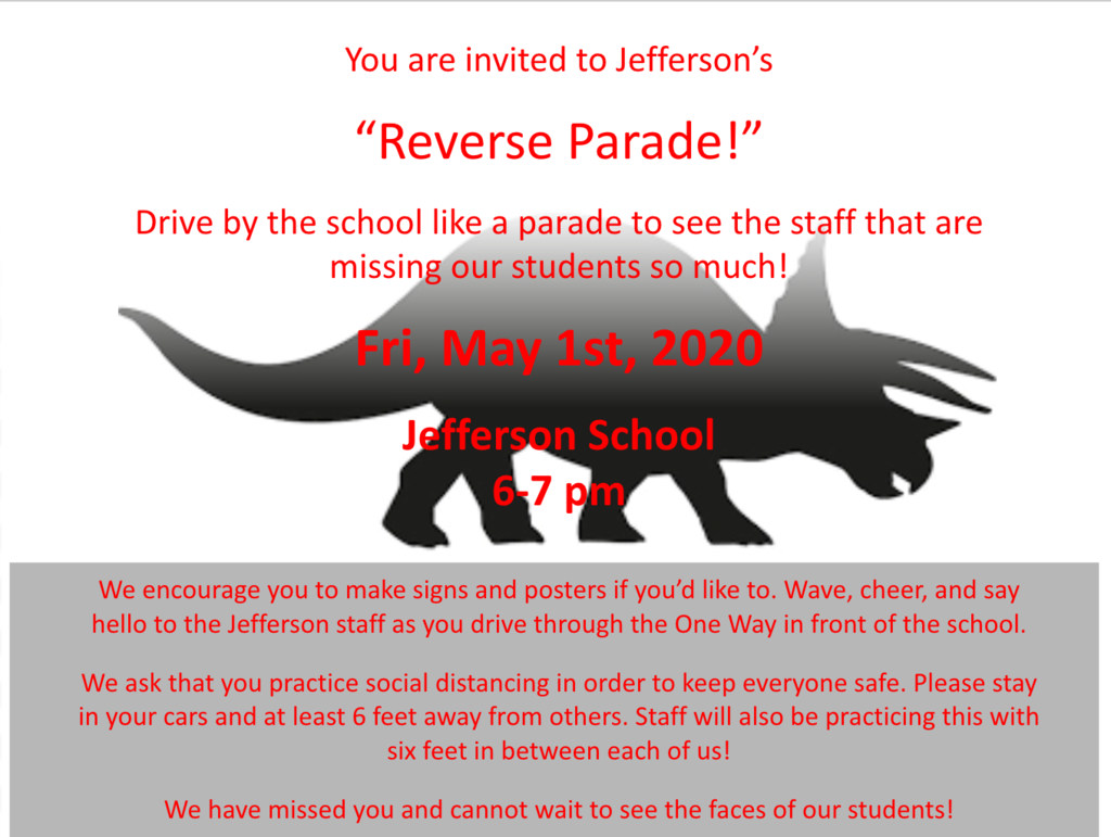 Reverse Parade at Jefferson